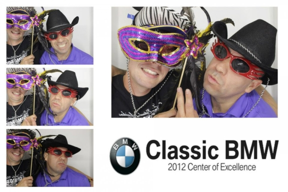 Dallas Photo Booths  Classic BMW  Photo Booth Rentals Dallas