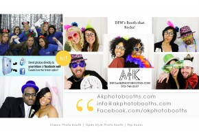 Dallas photo booth rental company for weddings, corporate, parties, events