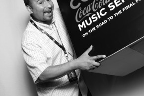 Coca cola photo booth event promotions