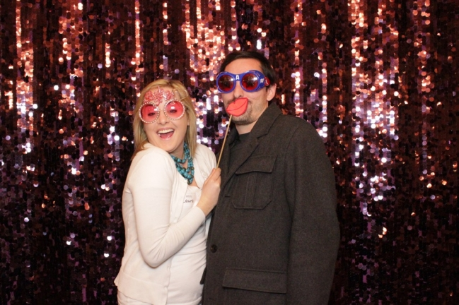 Open photo booth pictures at Aristide Event Center in Mansfield TX
