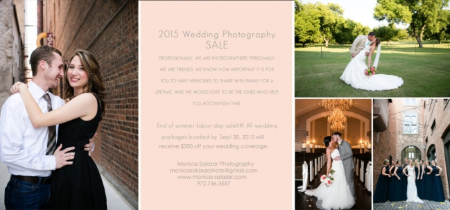 Dallas wedding photographer, Fort Worth wedding photographer, special offer on wedding photography, texas wedding, wedding, photography, photographers, discount on photography, bridal shows
