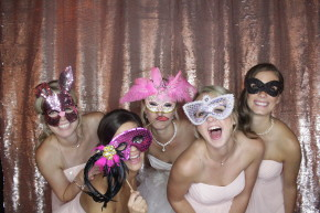 Dallas photo booth rentals at Bent Tree Country Club wedding