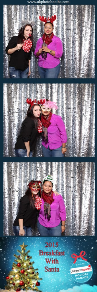 Dallas Photo Booth Rentals Christmas and Holiday Party Photo Booth Pictures A & K Photo Booths