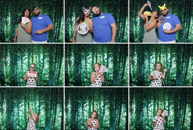 Dallas bridal show photo booth pictures by A & K Photo Booths. Dallas photo booth rentals. Fort Worth photo booth rentals. All photo booth rentals include unlimited prints, props, cool backdrop and the option to have a scrapbook for guests to leave a copy of their photo and a fun message to you.
