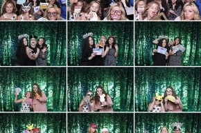Dallas bridal show photo booth pictures by A & K Photo Booths.