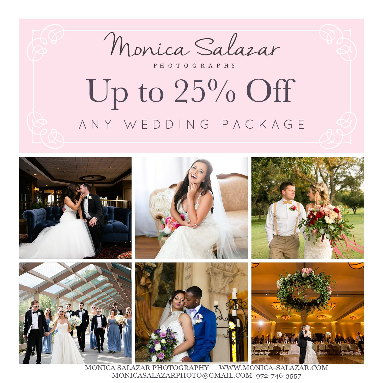 Wedding Photography Packages Dallas